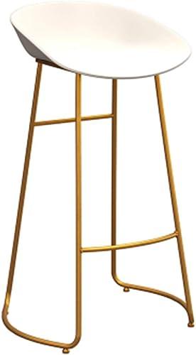 WZLDP Tabouret de Bar Boutique de thé Moderne et Minimaliste Chaise de Bar Tabouret Haut Chaise de Bar Nordic Chaise Haute Tabouret de Bar Chaise (Taille   75cm)