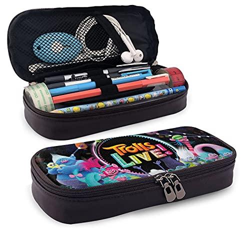 Tr-Ol-Ls - Estuche para lápices de gran capacidad para la escuela, adolescente, chico, hombre y mujer