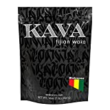 Wakacon KAVA WAKA Powder - Fijian Noble Premium Quality Kava Root (16oz)