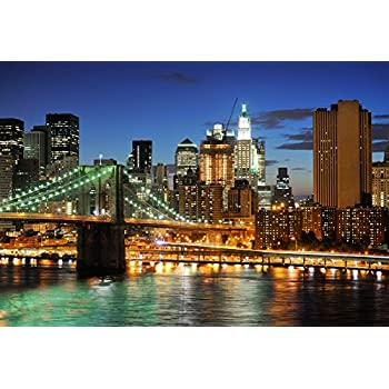 HD Cityscape Photography Backdrop River Retro Architecture Background Themed Party Photo Booth YouTube Backdrop 7x5ft GYMT090
