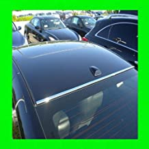 312 Motoring fits 2001-2005 LEXUS IS300 IS 300 CHROME FRONT/BACK ROOF TRIM MOLDINGS 2PC 2002 2003 2004 01 02 03 04 05