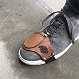 Personalized Motorcycle Shifter Boot Protector, Simple shifter boot leather protector,Shoes leather protector,Shifter protector