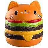 ZhengYue Jouets Spongieux Mignon Kawaii Doux Squishy Simulation Hamburger...