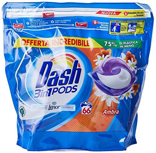 detergente líquido en cápsulas