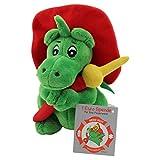 NUOVO! Sweety Toys 7738 Drago GRISU con manichetta antincendio dei vigili del fuoco mascotte di peluche 17 cm