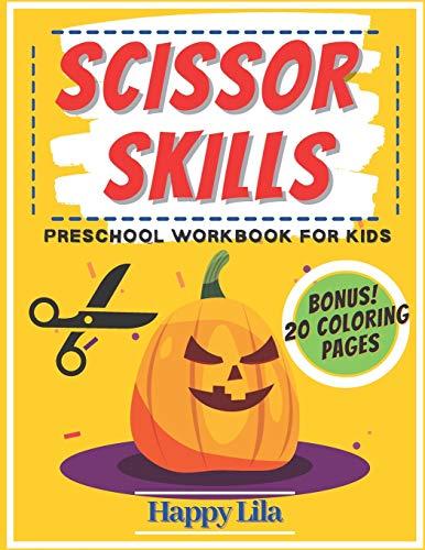 [画像:Scissor Skills Preschool Workbook For Kids: Halloween Edition with Vampires, Witches, Pumpkins, Mummies and More]