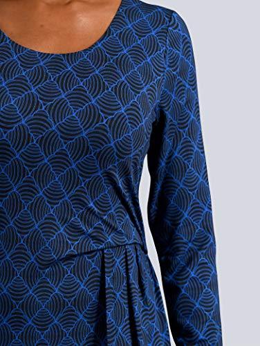 Alba Moda Damen Kleid Schwarz 46 Kunstfaser