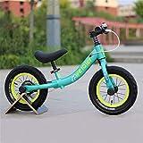 JHHXW Bicicletas de Equilibrio para niños, neumáticos neumáticos, sin Pedales para niños pequeños para niños pequeños, 1-5 años de Edad, niñas, niñas, Juguetes, Regalos de cumpleaños.