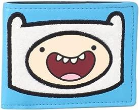 Adventure Time Men's Finn Furry Patch Bi-Fold Wallet