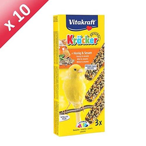 VITAKRAFT Kracker miel - Pour canaris x3 - (x10)