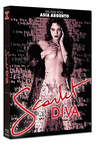 Blu Ray Scarlet Diva von Asia Agento Uncut (grosse limitierte Hartbox)
