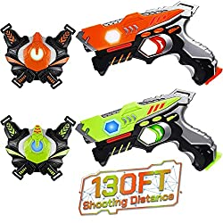 professional HISTOYE Laser Laser Tag Children's Adult Laser Tag Kit Gun and Best Laser Cannon Toy 56…