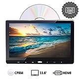 2020 Reproductor de DVD para Reposacabeza de Coche 11.6 Pulgadas Entrada HDMI Interconexión de Móvil USB SD AV-IN AV-out para Viaje