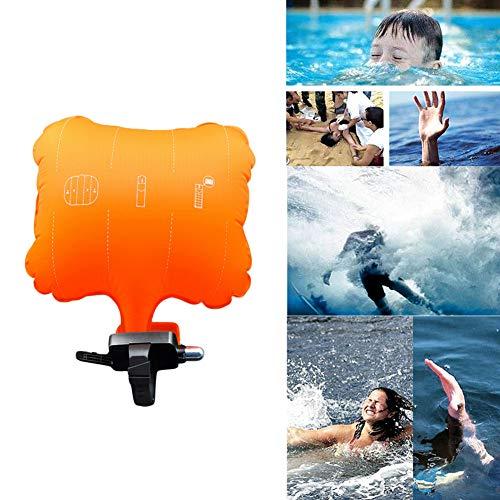 YIDOU Pulsera Anti-ahogamiento Dispositivo de Rescate Pulsera Flotante Utilizable Natación Seguro Emergencia Deportes acuáticos Ayuda Salvavidas