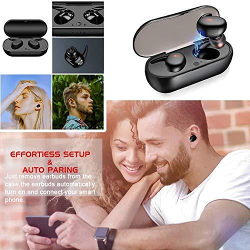 Fandazzie Y30 Wireless Bluetooth 5.0 Sports Auriculares estéreo binaurales Auriculares