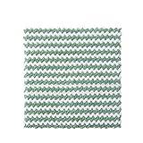 Trapos de limpieza absorbentes para el hogar Toallas de plato de flores a rayas Toallas de plato 26x26cm 40pcs verde