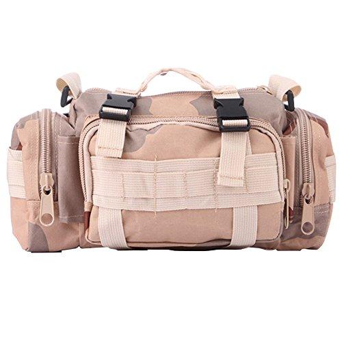 ELEAR® Utility Tactical Bag Marsupio Outdoor Borsa a tracolla Zaino tattici militari Sport all'aperto Campeggio Escursioni fango