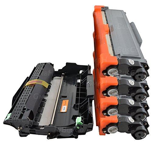 4 Toner + Trommel für Brother MFC-L2700DW ? MFC-L2700DN ? MFC-L2700 ? DN TN2320
