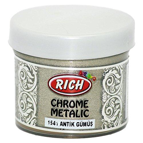 mytorten Pays Rich Chrome Argent patiné 60 ml