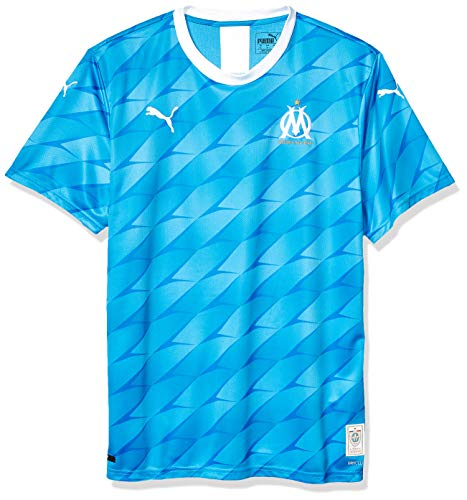 PUMA Mens Olympique de Marseille Licensed Replica Jersey 2019-2020, 3X-Large, Away