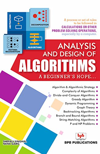 Analysis and Design of Algorithms: A Beginner's Hope