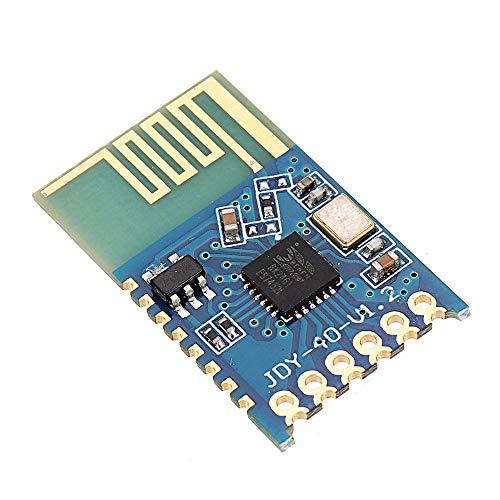 Módulo electrónico JDY-40 2.4G puerto serie Transmisión y transmisor-receptor integrado remoto 3pcs del módulo de comunicación Equipo electrónico de alta precisión