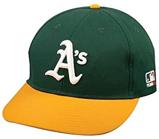 Oakland Athletics (A's) Youth MLB Licensed Replica Caps / All 30 Teams, Official Major League Baseball Hat of Youth Little League and Youth Teams
