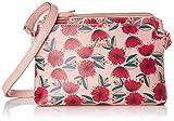 Lavie Naziha Horizontal 4C Floral Women's Sling Bag (Pink)