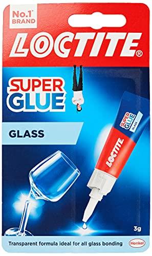 Loctite 1628817 Glass Bond, High-Quality Glass Glue, Instant Super Glue for...