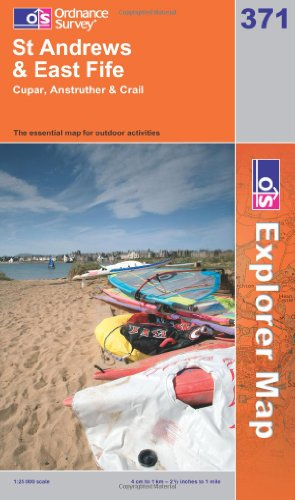 OS Explorer map 371 : St Andrews & East Fife