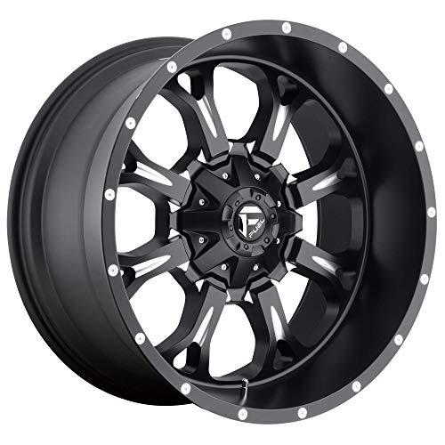 Fuel D517 Krank 18x9 6x135/6x139.7 (6x5.5') -13mm Black/Milled Wheel Rim