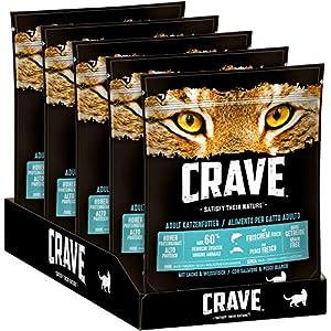 CRAVE Premium Trockenfutter für Katzen – Getreidefreies Adult Katzenfutter mit hohem Proteingehalt, verschiedene… 2