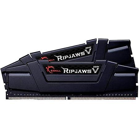 G.Skill RipJaws V Series 16GB (2 x 8GB) 288-Pin SDRAM PC4-25600 DDR4 3200 CL16-18-18-38 1.35V Dual Channel Desktop Memory Model F4-3200C16D-16GVKB