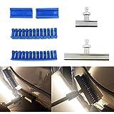 WEMINC Centipede Curved Glue Tabs Heavy Duty PDR Dent Puller Crease Glue Tabs Large Dents (Centipede Curved Tabs)