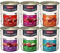 animonda Gran Carno adult Hundefutter, Nassfutter für erwachsene Hunde, Mix 1, 6 x 800 g