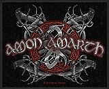 Amon amarth parche–Viking Dog–Amon amarth Patch–tejida & licencia oficial..