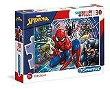 Clementoni- Puzzle 30 Piezas Spider-Man, Color Multicolor. (20250.8)