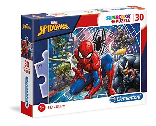 Clementoni 20250-Spiderman, Puzzle da 30 pezzi, Colore Multicolore, 20250