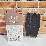 JN95MASK 日本製マスク 不織布マスク (グレー)