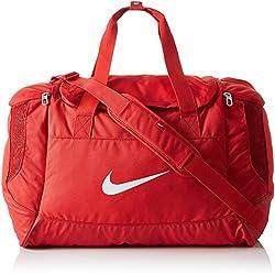 Nike Unisex Sports Bag Club Team Swoosh, black / white, 53 x 37 x 27 cm, 52 Liter, BA5193-010