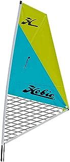 Hobie Mirage Kayak Sail Kit-Aqua/Chartreuse