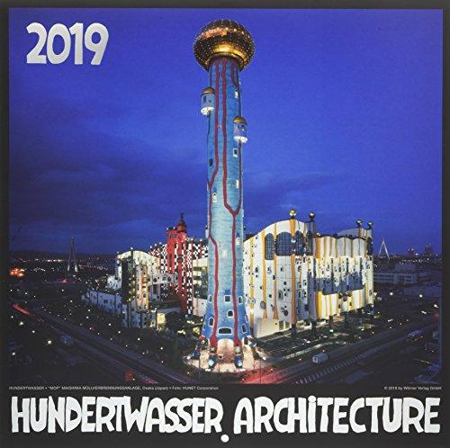 Hundertwasser Broschürenkalender Architektur 2019: Das Original
