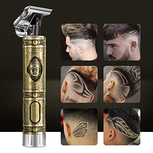 Electric Pro Li Outliner, Electric Hair Clipper Pro Li Grooming Trimmer, Rechargeable Cordless Close Cutting T-Blade for men Zero Gapped Detail Beard Shaver Barber