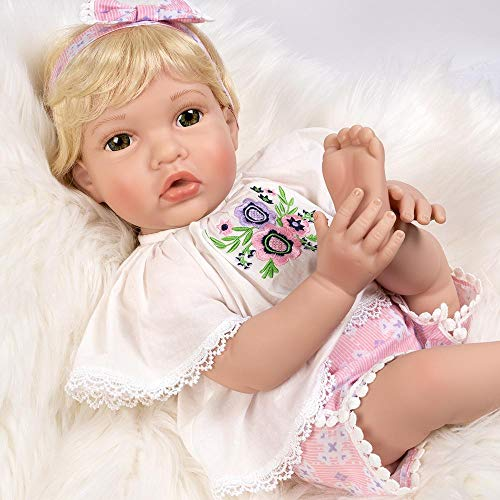 Paradise Galleries Reborn Toddler Doll - Boho Beauty, 20 Inch in Gentletouch Vinyl, 6-Piece Reborn Doll Gift Set