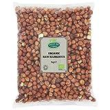 Avellanas crudas orgánicas 1kg por Hatton Hill Organic - Orgánica certificada...