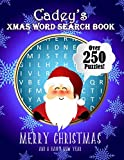 Cadey's Xmas Word Search Book: Over 250 Large Print Puzzles For Cadey / Wordsearch / Santa Bubble Theme