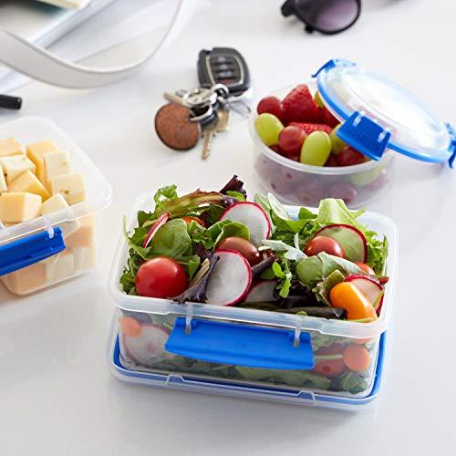Sistema KLIP IT Food Storage Container, Blue Clips, 5 Litre