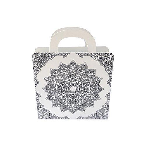Blanc avec noir Poignee de porte ceramique Scha/¶nes Leben* 10 Pcs Poignees et boutons de tiroir boutons de tiroir