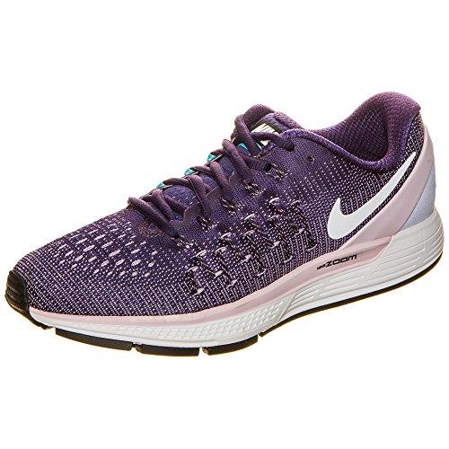 Nike Women's Air Zoom Odyssey 2 Running Shoes (7 B(M) US, Dark Raisin/White/Polarized Blue)