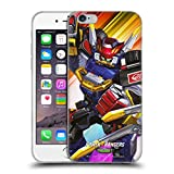 Head Case Designs Officially Licensed Power Rangers Beast Morphers Megazord Characters Soft Gel Case Compatible with Apple iPhone 6 / iPhone 6s